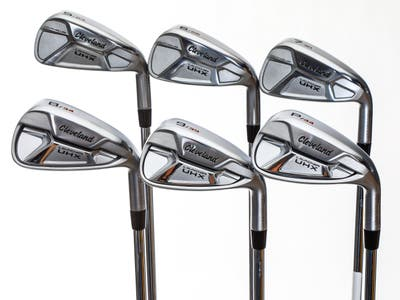 Mint Cleveland Launcher UHX Iron Set 5-PW True Temper Dynamic Gold DST98 Steel Stiff Right Handed 38.25in