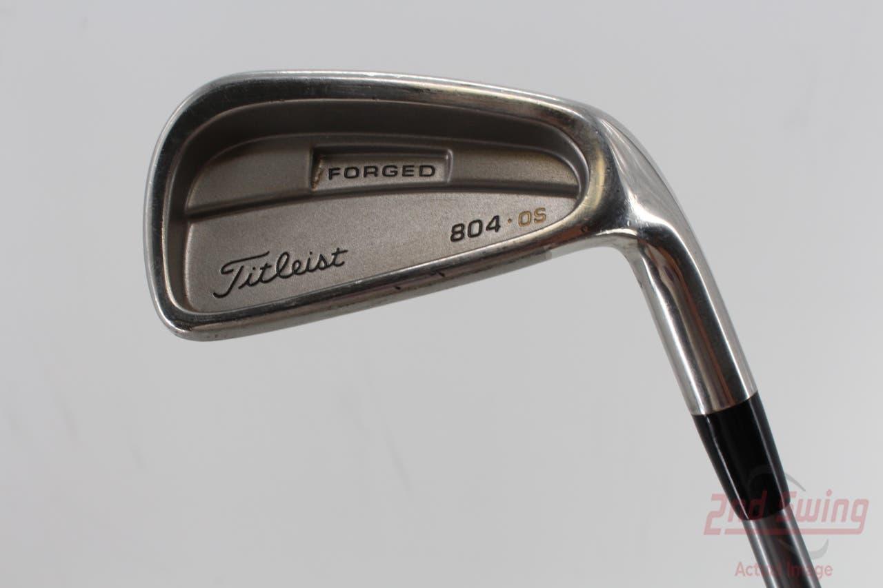 Titleist 804.OS Single Iron 6 Iron 30° 3980 Titleist Graphite Shaft Graphite Regular Right Handed 37.5in