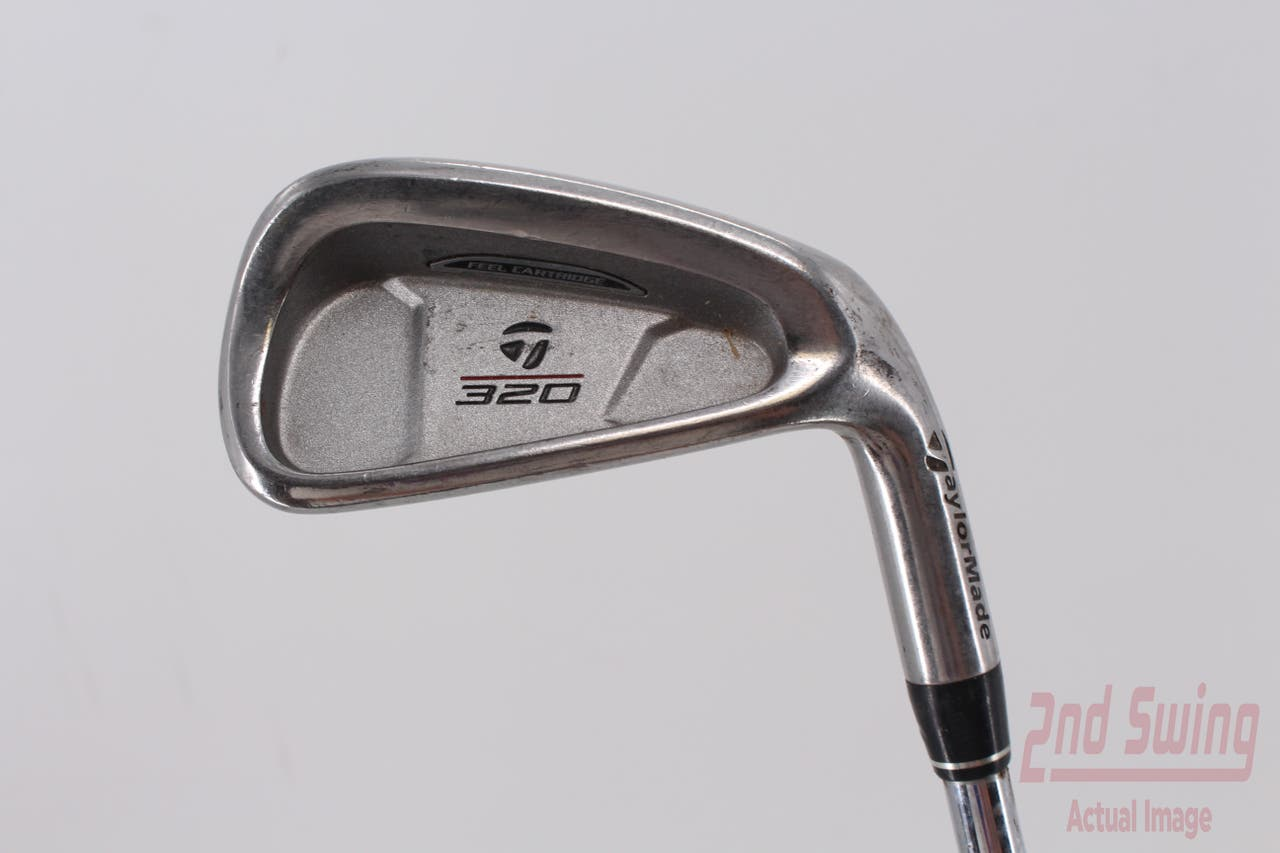 TaylorMade 320 Single Iron 6 Iron   TM S-90 Steel Stiff Right Handed 37.75in