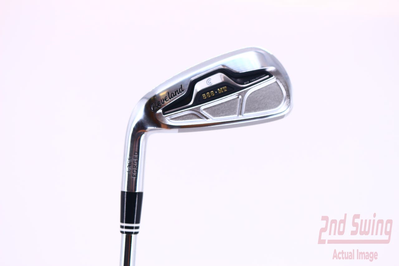 Mint  Cleveland 588 MT Single Iron 6 Iron   Cleveland Traction 85 Steel Steel Stiff Left Handed 38.0in
