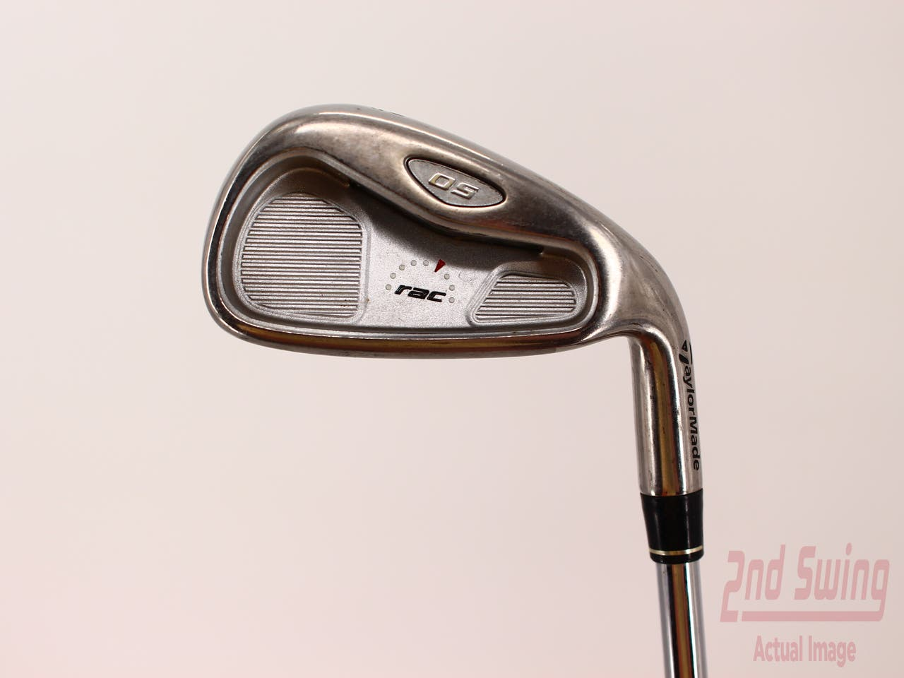 TaylorMade Rac OS 2005 Single Iron 4 Iron   TM T-Step 90 Steel Regular Right Handed 38.5in