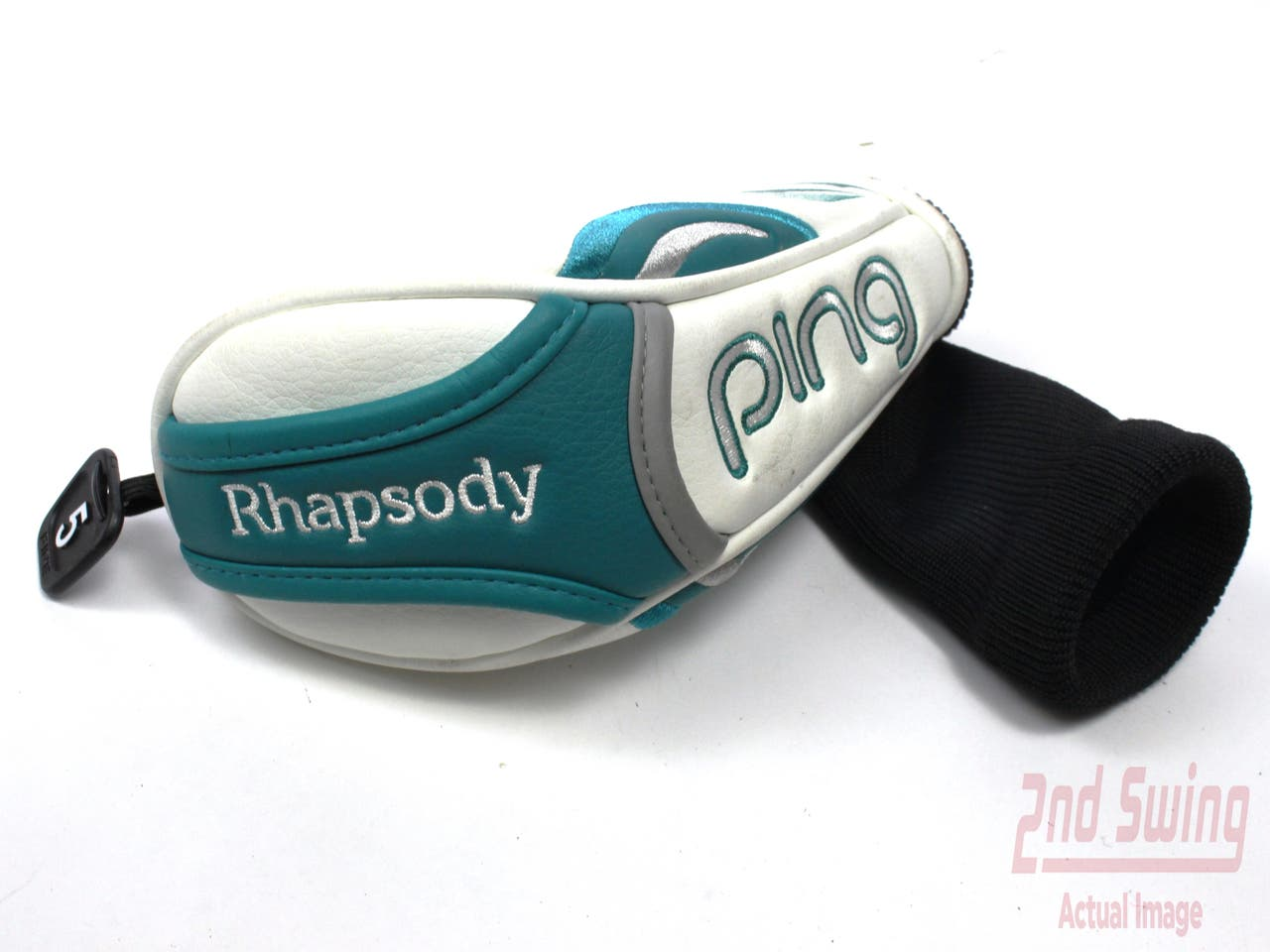Ping 2015 Rhapsody Hybrid Headcover 5 Tag Hyb White &