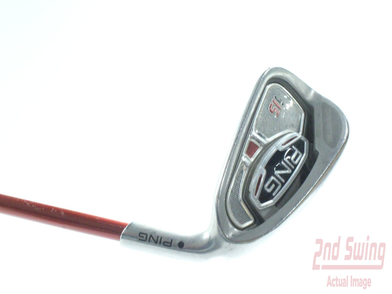 Ping i15 Single Iron 6 Iron Ping TFC 149I Graphite Stiff Right Handed Black Dot 37.25 in