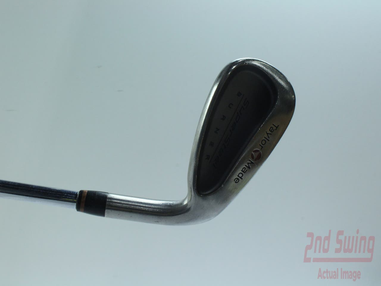 TaylorMade Supersteel Single Iron 4 Iron TM Royal Precision Rifle Steel Steel Senior Right Handed 37.75 in