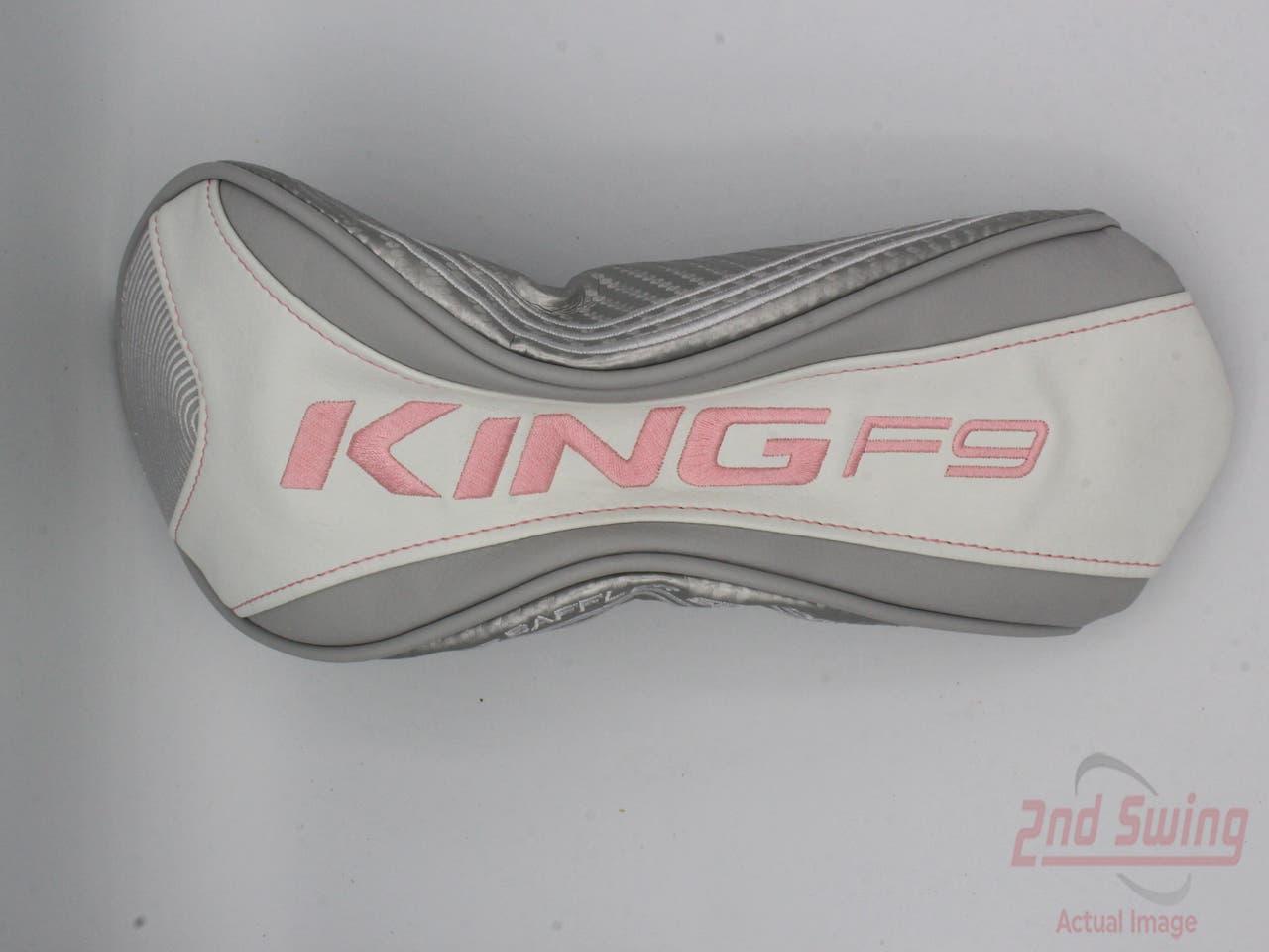 Cobra KING F9 Speedback Womens Fairway Wood Headcover White/Pink
