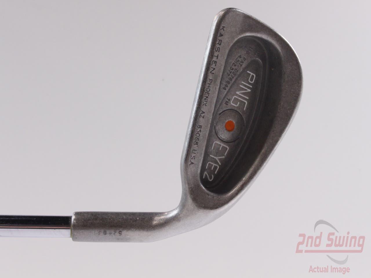 Ping Eye 2 Single Iron 4 Iron Ping ZZ Lite Steel Stiff Right Handed Orange Dot 38 in