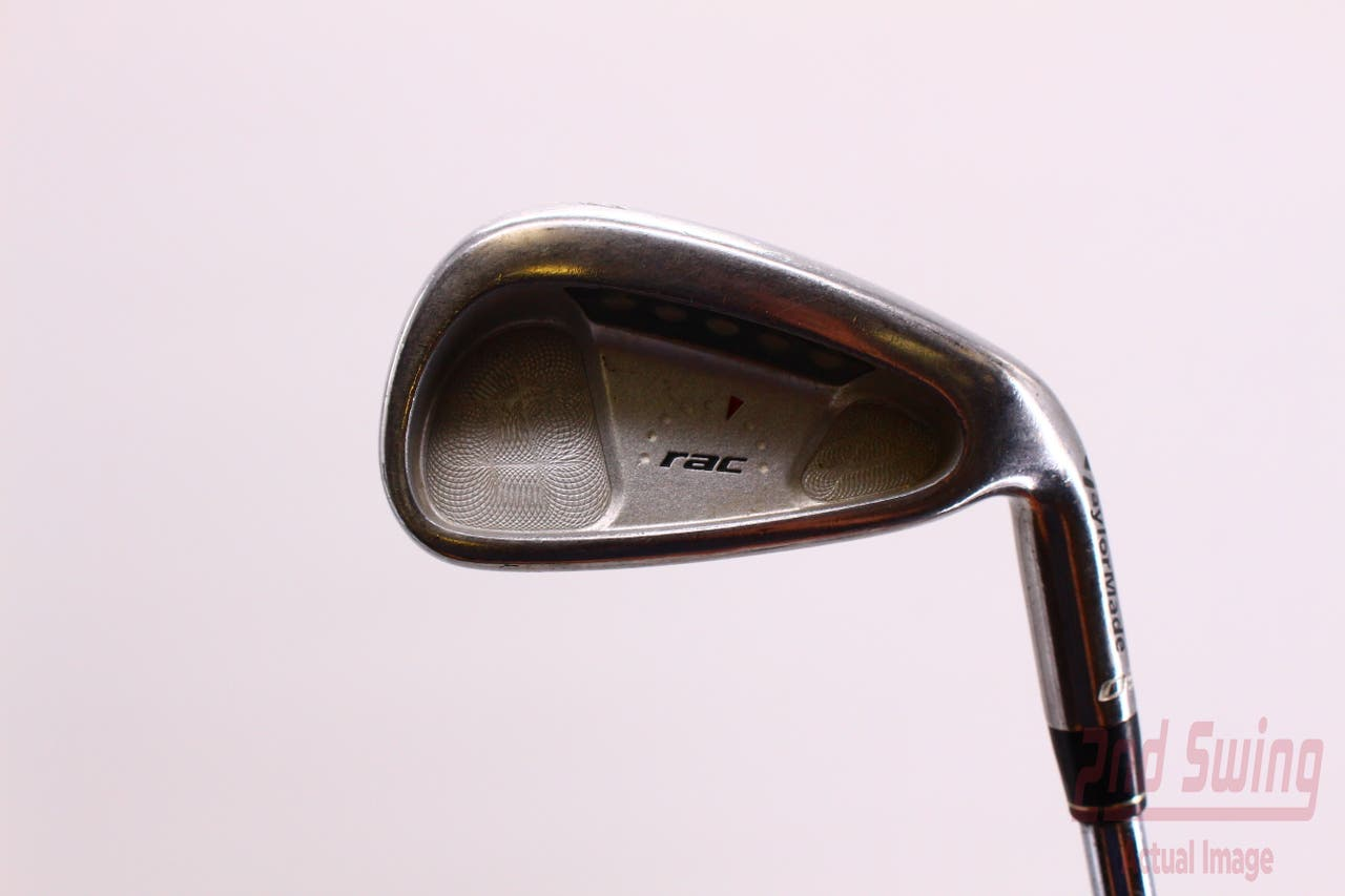 TaylorMade Rac OS Single Iron 4 Iron Stock Steel Shaft Steel Stiff Right Handed 38.5 in